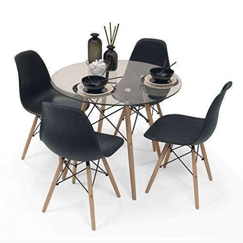 Go comedor tower 4 sillas mesa redonda - 1