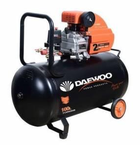 Compresor Daewoo 100 litros 3 HP