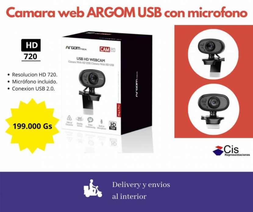 Cámara Web Argom HD720 con micrófono - 0