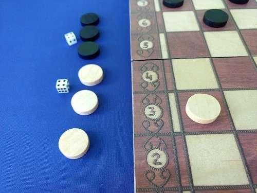 Juego magnético de ajedrez y damas y Backgammon - 4