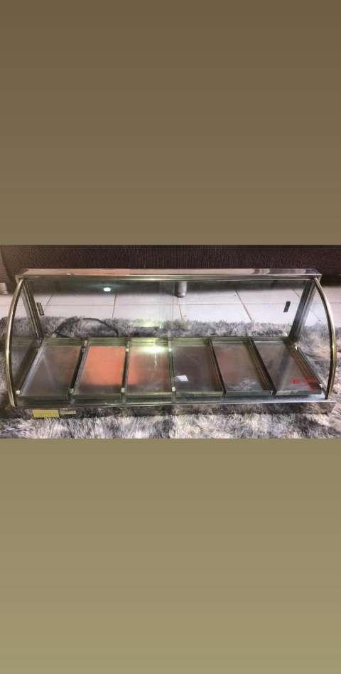 Exhibidora de empanada 6 bandejas - 0