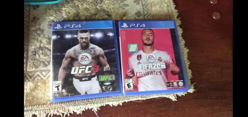 FIFA 20 y UFC 3 para PS4 - 0