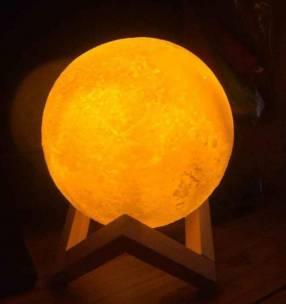 Lámpara de luna 3D
