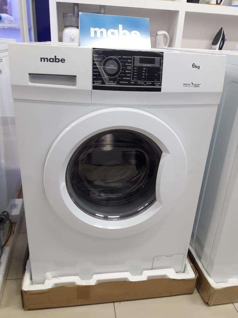 Lavarropas automática Mabe 6 kilos - 0