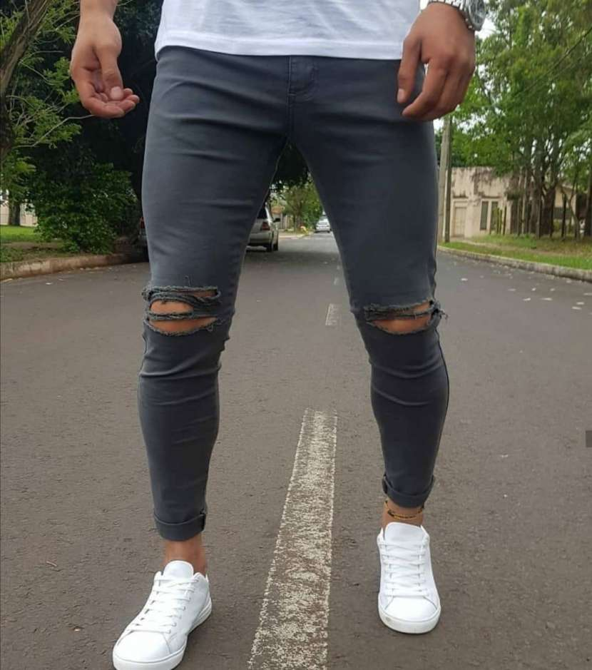 Jeans Rasgados - 1