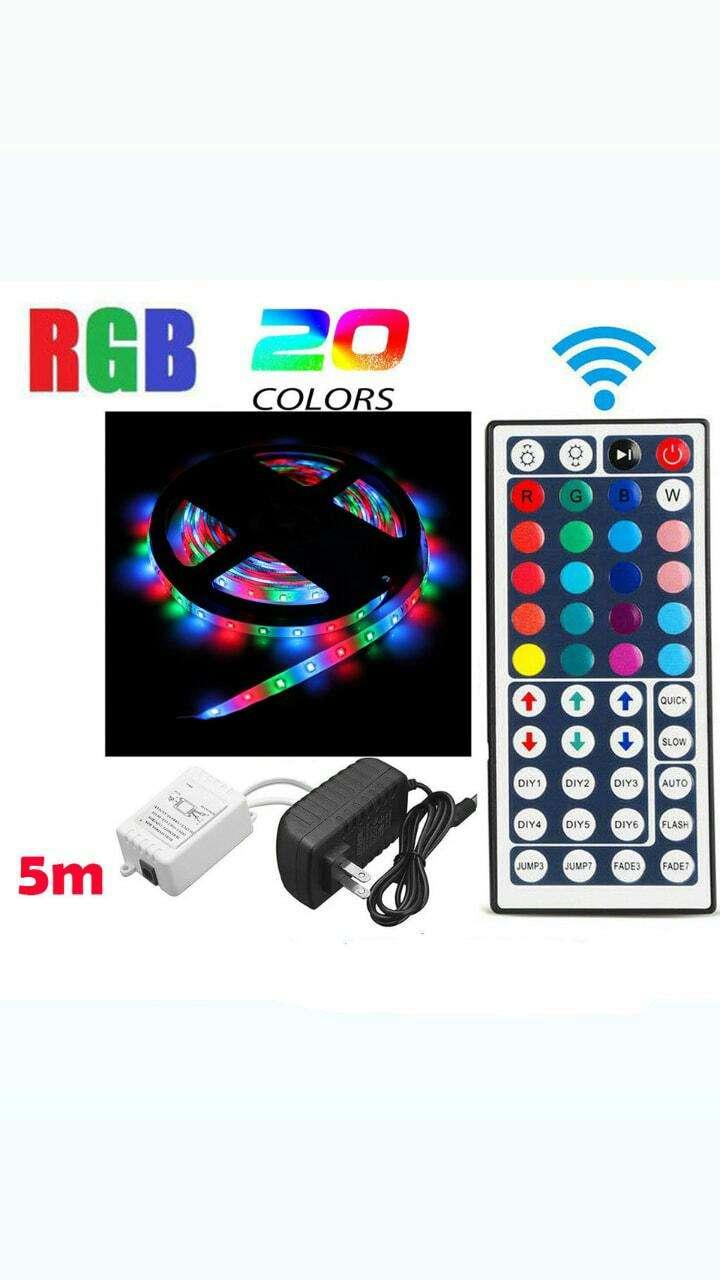Tiras de luces led RGB de 5 metros - 0