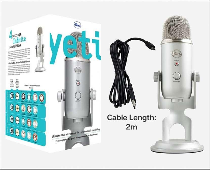 Micrófono profesional Logitech Blue Yeti 988-000103 - 1