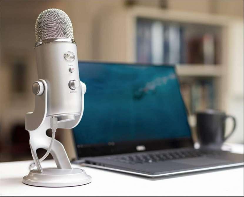 Micrófono profesional Logitech Blue Yeti 988-000103 - 6