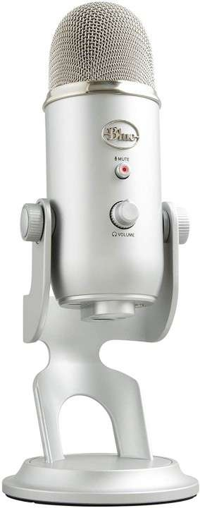 Micrófono profesional Logitech Blue Yeti 988-000103 - 0