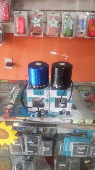 Mini Speaker a Bluetooth Luo - 0