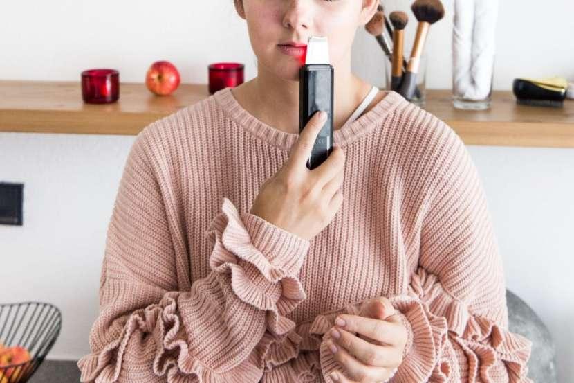 Espatula ultrasonica para limpieza facial - 1