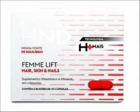 Femme Lift suplemento vitamínico para cabellos uñas y piel