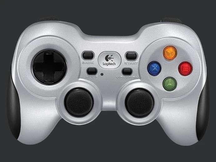 Gamepad Logitech inalámbrico F710 - 0