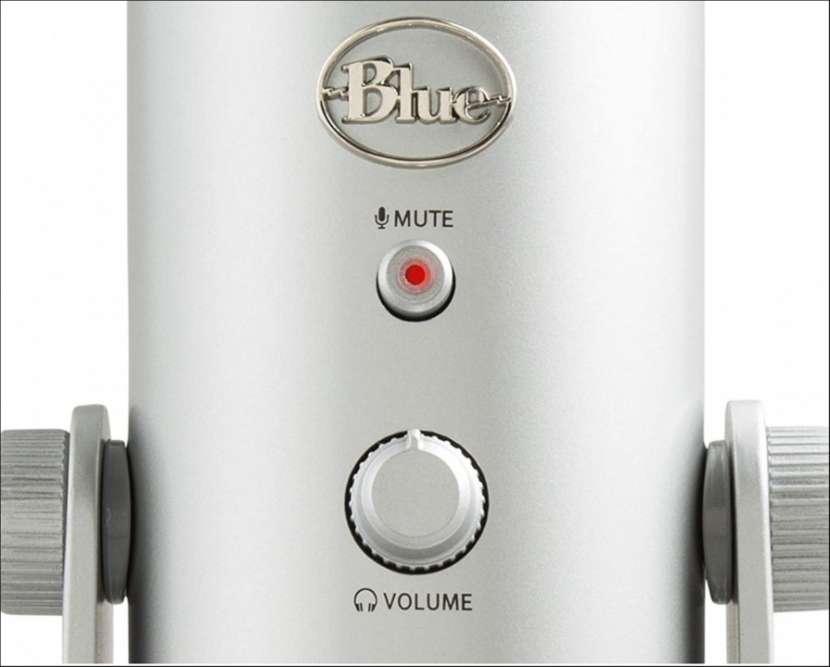 Micrófono profesional Logitech Blue Yeti 988-000103 - 3