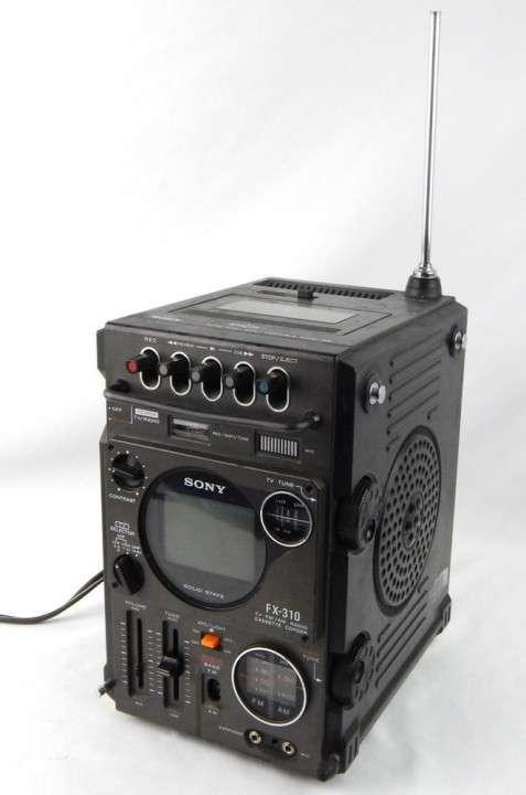 Radio sony tv original de colección. - 0