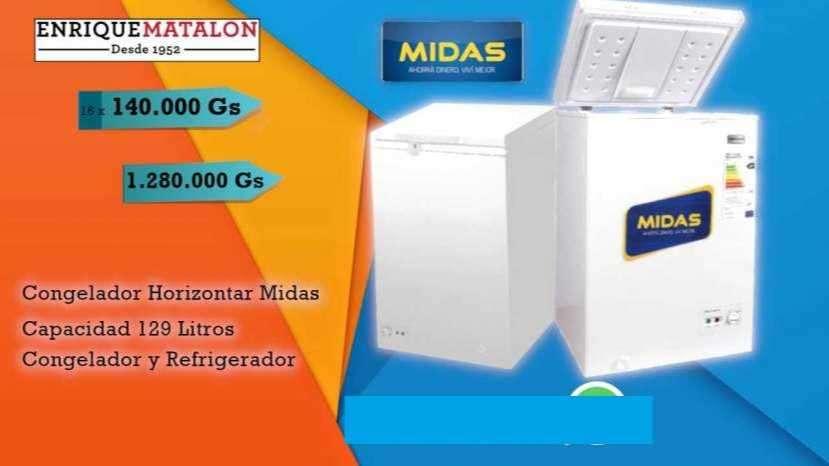 Congelador Horizontal Midas 129 Lts - 0