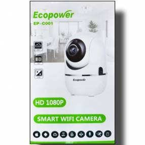 Cámara de vigilancia 360 grados wifi
