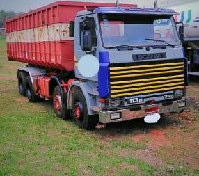 Scania 113 380 6x6