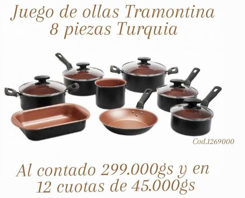 Juego de ollas Tramontina 8 piezas - 0