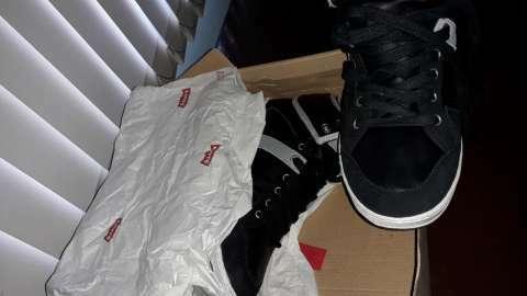 Levi's negro calce 42 - 3