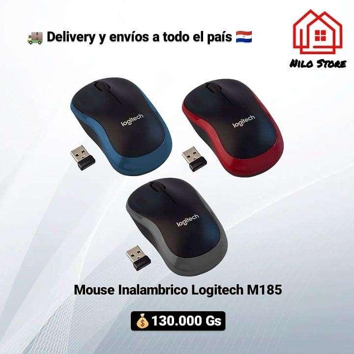 Mouse inalámbrico Logitech M185 - 0
