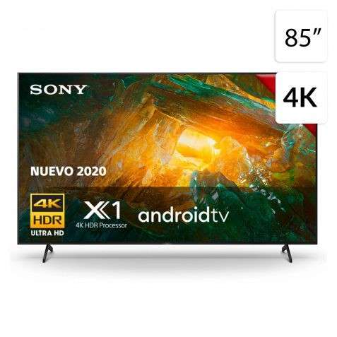 Televisor smart led 4k Sony 85 pulgadas - 0