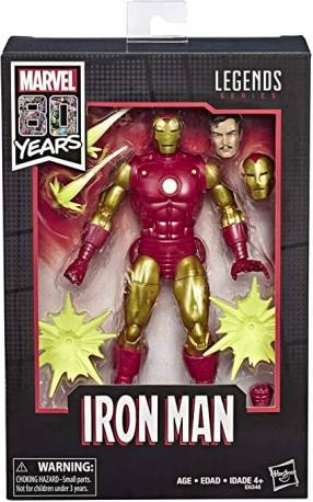 Hasbro Marvel Legends Comics Iron Man 80th