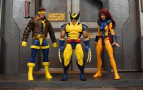 Hasbro Marvel Legends Pack 3 Jean Grey, Cyclops y Wolverine