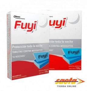 Fuyi tabletas mata y repele los mosquitos 16 unidades