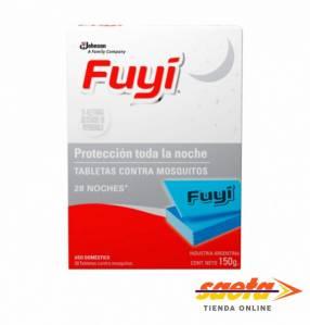 Fuyi tabletas mata y repele los mosquitos 28 unidades