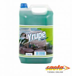 Detergente Yrupé Lima Limón bidón 5 litros