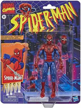 Hasbro Spider-Man Marvel Legends Retro Collection Spider-Man