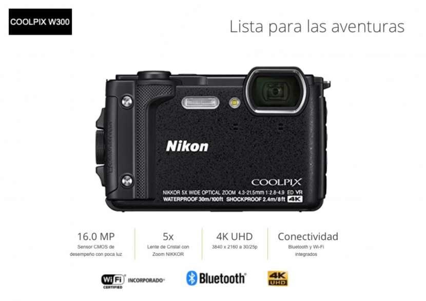 Cámara Nikon Coolpix W300 - 0