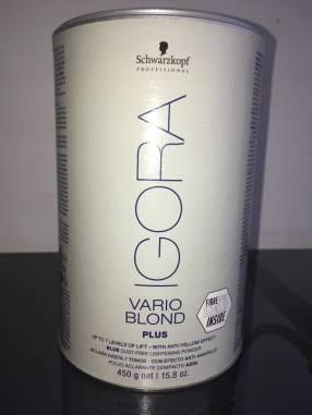 Polvos decolorantes Igora Varioblond Plus