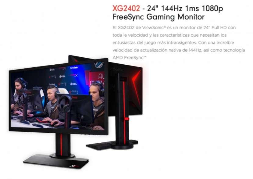 Monitor ViewSonic XG2402 - 0