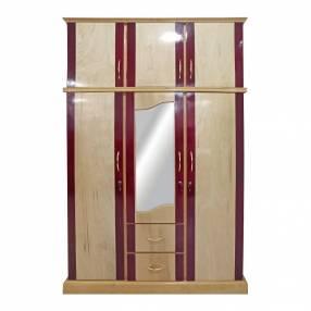 Ropero 3 Puertas de madera Guatambu