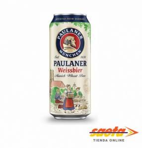 Cerveza paulaner weissbier lata 500ccx24