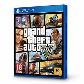 Juego GTA V PS4
