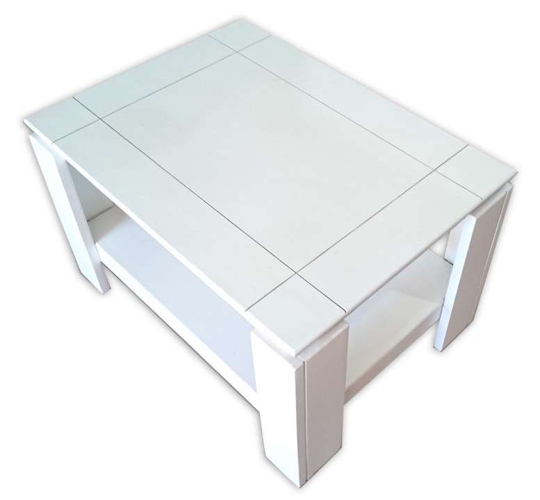 Mesa centro ratonera de madera - 2