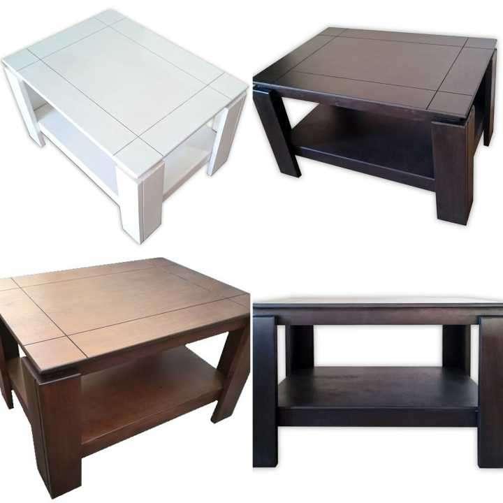 Mesa centro ratonera de madera - 4