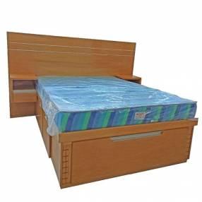 Cama de madera sin colchón 140x190