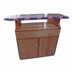 Mesa de planchar de madera nar