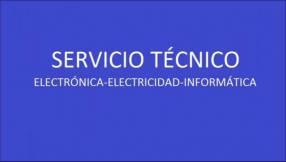Servicio técnico informática electrónica electricidad