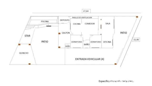 Casa en Villa Elisa Barrio Centro - 8