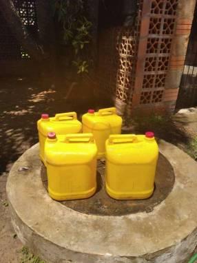 Bidones para combustible de 20 litros
