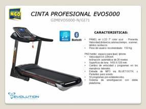 Cinta para Caminar Profesional Evolution EVO5000