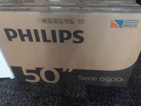 Smart TV Philips 4K de 50 pulgadas