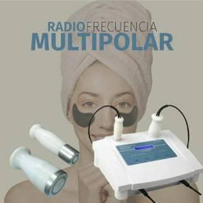 Radiofrecuencia multipolar facial y corporal