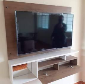 Rack para tv en melamina 18mm