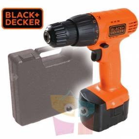 Taladro Atornillador Inalámbrico 10mm 12V Black+Decker CD121K